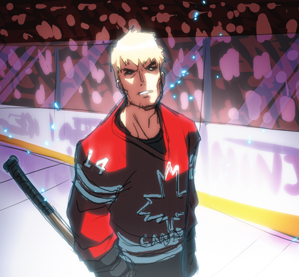 art, anime, drawing, hockey, olympics, team canada